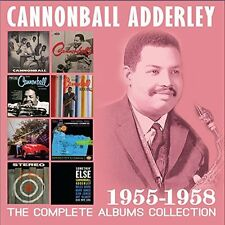 CANNONBALL ADDERLEY-THE COMPLETE ALBUMS COLLECTION 1955-1958(4CD)  CD NEW