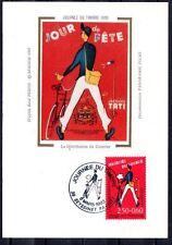 FRANCE FDC - 1993 2 JOURNEE DU TIMBRE - 2792 - SEYSSINET -SUR CARTE POSTALE soie