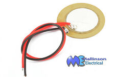 Uncased small piezo transducer element buzzer 20mm