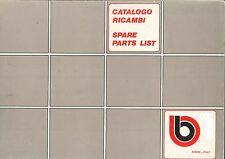CATALOGO RICAMBI BIMOTA SB2 COPY OLD CODE SPARE PARTS CATALOGUE ( ITA - ENG )