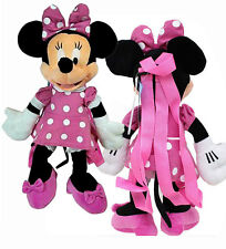 "17"" Disney Minnie Mouse Large Plush Doll Backpack Bag Valentine NEW"