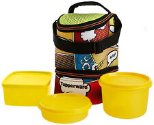 TUPPERWARE COOL N FAB TRENDY LUNCH BOX WITH NEW DESIGN IN INSULATED BAG