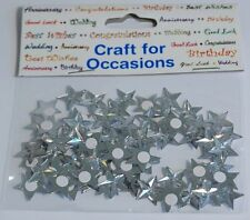 Craft for Occasions Embellishments - Silver Star Gems