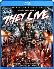 THEY LIVE : Collector's Edition -  Region A - BLU RAY - Sealed
