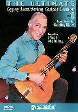 The Ultimate Gypsy Jazz/Swing Guitar Lesson: DVD 1, Good DVD, Paul Mehling, Happ