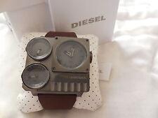 Diesel WATCH DZ7249 Brown/Gray 3 Times Zones