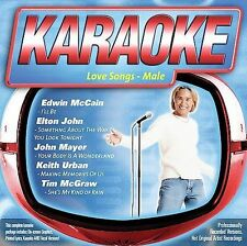LOVE SONGS - MALE (Country Karaoke) CD+G [B34]