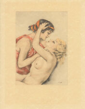 Edouard Chimot Modern Reprint - Courtisanes #4 - Ready to frame