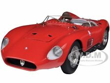 1956 MASERATI 300S RED 1/18 DIECAST MODEL CAR BY CMC 105