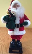"""16"""" Holiday figure Santa Claus Christmas Battery Operated Tested - Music Only"""