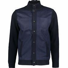KARL LAGERFELD Navy Knitted Jacket/Cardigan L/M Chanel