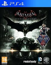 BATMAN ARKHAM KNIGHT | PLAYSTATION 4 PS4 DC SUPEREROI videogioco