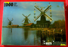WINDMILLS IN THE NETHERLANDS 1000 Jigsaw Puzzle NEW SEALED Holland/Canal/River