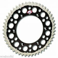 Rear motorcycle sprocket Husqvarna FE 501 2014-2015 black steel/alloy 52 teeth