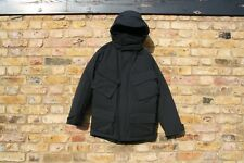 £995 BURBERRY BRIT TWO LAYERS DOWN COAT RAIN PROOF SNOW WINTER PARKA BLACK