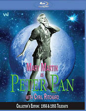 Peter Pan - Starring Mary Martin [Blu-ray) DVD, Cyril Ritchard, Kathy Nolan, Mar