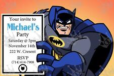 Kids Batman Birthday Party Invite Template_DIY