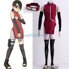 Boruto: Naruto the Movie Uchiha Sarada Cheongsam Anime Cosplay Costume