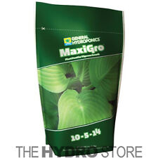 General Hydroponics MaxiGro 2.2lbs pounds - gh maxi bloom nutrient