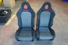 Honda Civic Type R 2000-2005 EP3  Green & Black Seats - WITH RAILS - Bucket