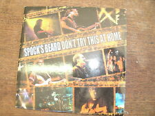 SPOCK'S BEARD Don't try this at home Promotional CD