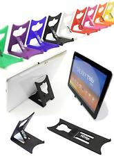 "Samsung Galaxy Tab 10"" Computer Tablet Holder BLACK iClipTravel Desktop Stand"