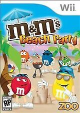 M&M's Beach Party (Wii, 2009) NEW! CHEAP!!! M & M Nintendo