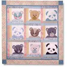 BEAR PATCH BABY QUILT QUILTING PATTERN, From Garden Trellis Designs NEW