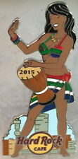 Hard Rock Cafe ONLINE 2015 Sexy PIN-UP Girl Series PIN #6/12 SOUTH AFRICA LE 50!