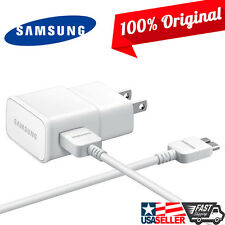 Original Samsung Galaxy S5 Note3 Wall Home Fast Charger + 5FT USB 3.0 Data Cable