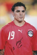 AMR ZAKI EGYPT INTERNATIONAL 2004-2013 ORIGINAL HAND SIGNED LARGE PHOTOGRAPH