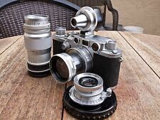 RARE Vintage Leica IIIc 35mm camera outfit - EXCELLENT CONDITION!