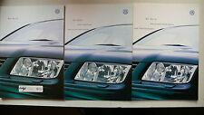 Prospekt Volkswagen Bora, 4.1999, 68 Seiten + Daten/Ausstattung+Preise