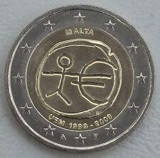 """2 Euro Malta 2009 """"10 Jahre WWU"""" unz"""