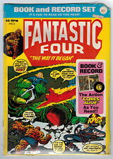 POWER RECORDS # PR13 FANTASTIC FOUR #126 9.0 SEALED BOOK AND 45 RECORD BRONZE AG