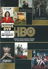 HBO Seven Episodes Game of Thrones Veep (DVD, 2013, with Digital Copy) NO WRAP