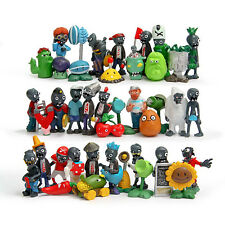 Hot Sale Lot of 40 PCS Different Plants vs Zombies Toys Anime Action Figures PVC