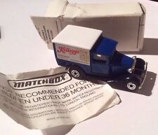 Matchbox Superfast Kelloggs Model A Ford Van Reduced To Sell