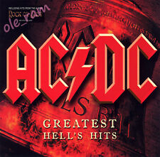 AC/DC GREATEST HELL'S HITS INCL. ROCK OR BUST 2 CD SET IN DIGIPAK Angus Young