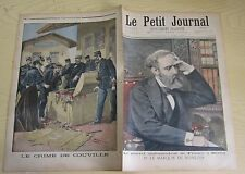 Le petit journal 1896 290 Marquis de Noailles + crime de Couville