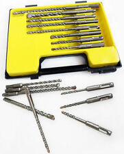 8PC SDS PLUS DRILL BIT SET BUILDERS MASONRY PROFESSIONAL QUALITY INDUSTRIAL