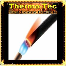 Insultherm - 22.2mm x 1.8m - Black Protective Heat Shield Sleeve up to 650°C