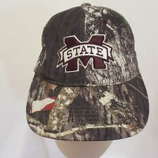 Mississippi State Camouflage Cap Hat New With Tags Velcro Closure Mossy Oak
