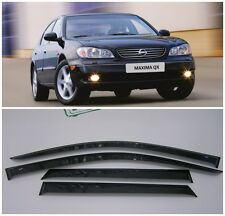 For Nissan Maxima A33,A32 1994-2008 Window Visors Sun Rain Guard Vent Deflectors