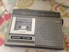 retro Sharp fm/mw/lw radio cassette recorder gf 1760
