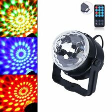 Sensory LED Lights Toy Projector Calming Autism Rotating Crystal Ball ADHT