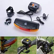 NEW Bike Bicycle Tail Turn Signal 7LED Light Lamp Turning Indicators Horn
