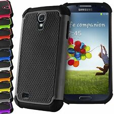 Hybrid Hard Back Rugged Ruuber Silicone Shockproof Case Cover For Samsung Galaxy