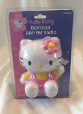 VTG HELLO KITTY DESKTOP AM/FM RADIO KT2042 SANRIO 2004 San Rio Retro