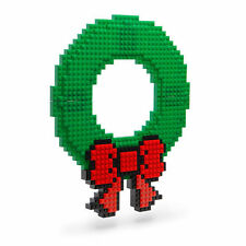 CHRISTMAS WREATH build on NEW works with LEGO KNEX holiday decoration